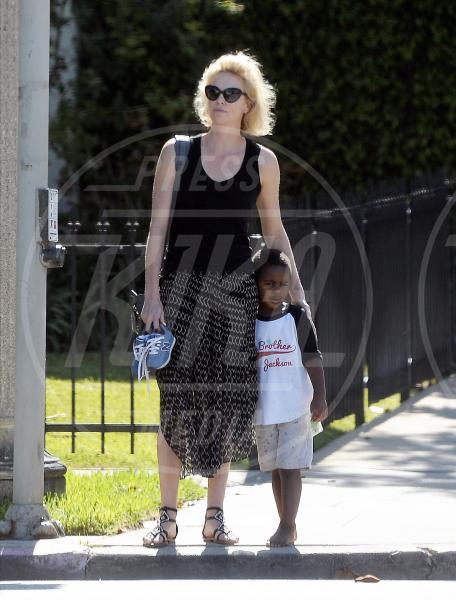 Jackson Theron, Charlize Theron - Los Angeles - 03-08-2015 - Theron shock: