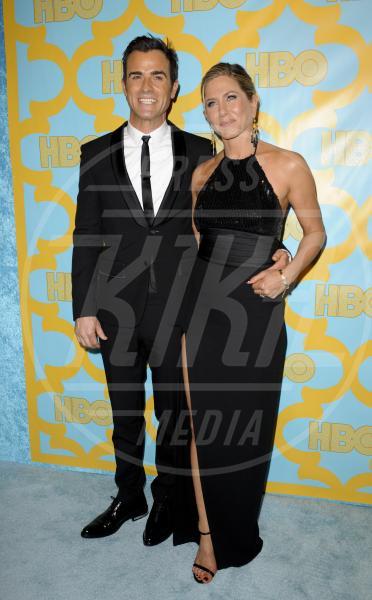 Justin Theroux, Jennifer Aniston - Los Angeles - 12-01-2015 - Jennifer Aniston è incinta di due gemelle