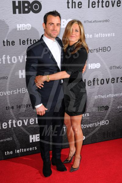Justin Theroux, Jennifer Aniston - Manhattan - 24-06-2014 - Jennifer Aniston è incinta di due gemelle