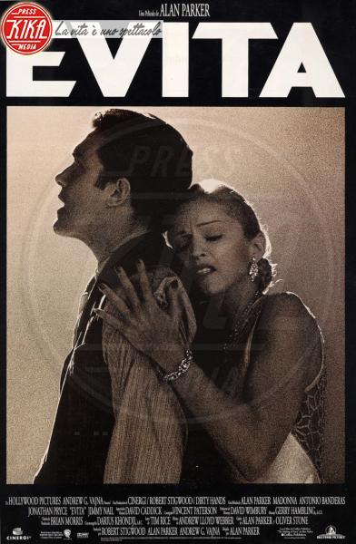 Evita, Antonio Banderas, Madonna - 01-01-1996 - Madonna, sono già 60. Auguri Lady Ciccone