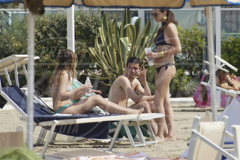 Maria Elena Boschi - Marina di Pietrasanta - 11-08-2015 - Ministro Boschi, l'asciugamano non basta a coprire la cellulite