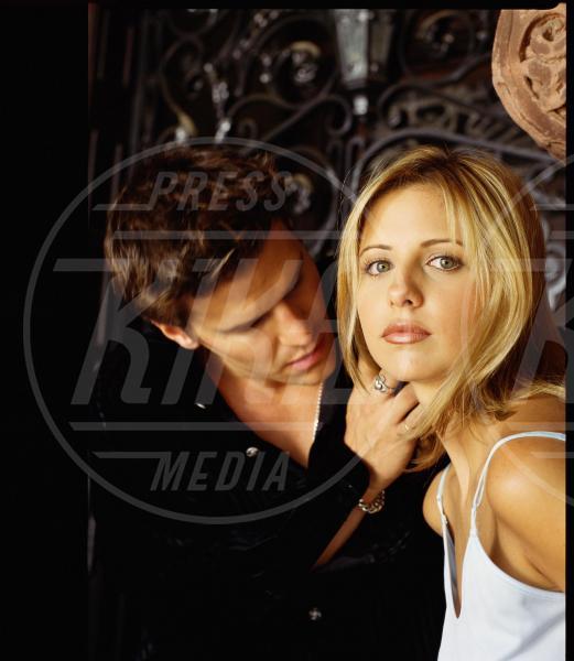 Buffy l'ammazzavampiri, David Boreanaz, Sarah Michelle Gellar - 30-07-1997 - I 10 amori delle serie tv anni 90 che ci hanno fatto sognare