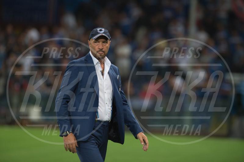 Walter Zenga - Genova - 23-08-2015 - Walter Zenga scalza il Trap come commentatore dell'Italia