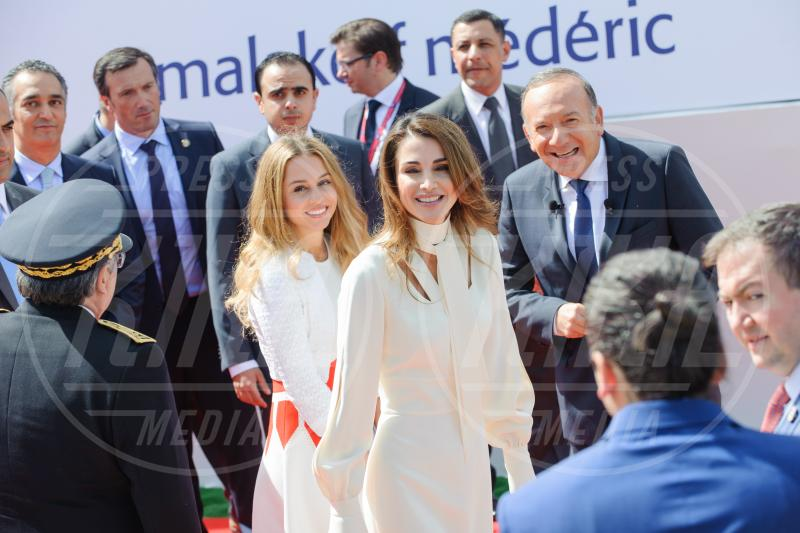 Iman di Giordania, Rania di Giordania - Parigi - 26-08-2015 - Stefano e Santiago De Martino: due gocce d'acqua
