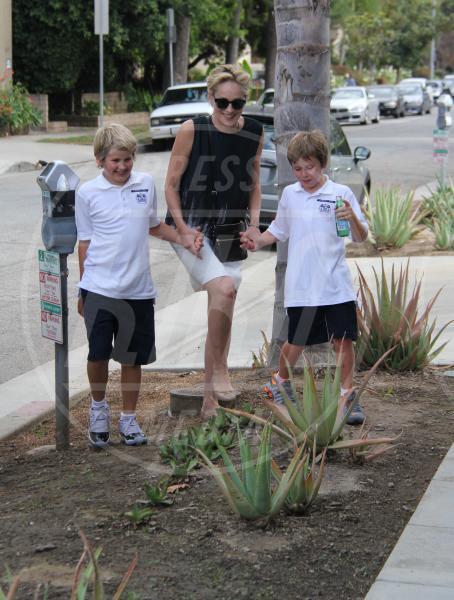 Laird Vonne Stone, Quinn Kelly Stone, Sharon Stone - Los Angeles - 25-08-2015 - Mamme in carriera: i figli sono la chiave del successo