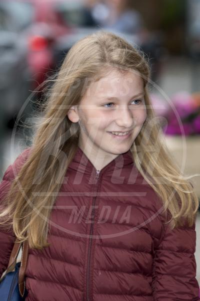 Principessa Elisabetta del Belgio - Bruxelles - 01-09-2015 - Principesse adolescenti sui troni d'Europa: le riconoscete?