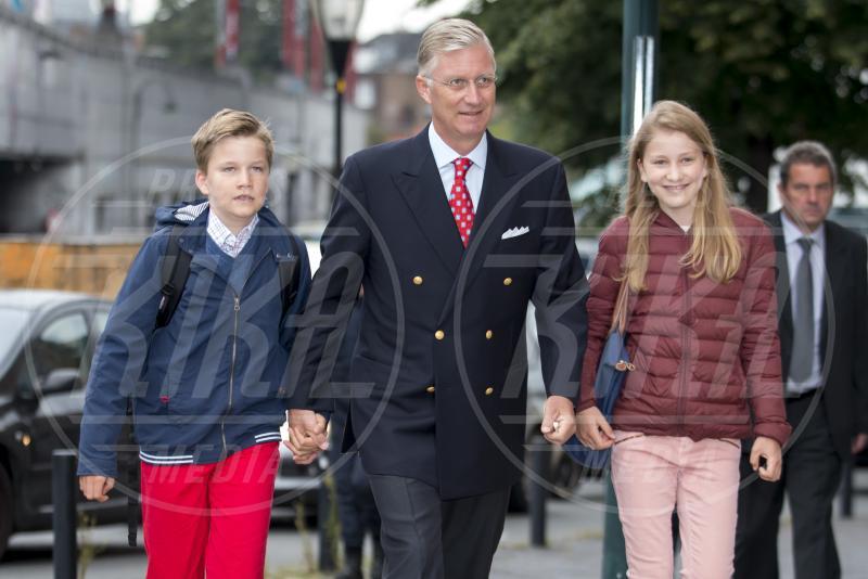 Principessa Elisabetta del Belgio, Principe Gabriel, Filippo del Belgio - Bruxelles - 01-09-2015 - Saranno loro a sedersi, un giorno, sui troni d'Europa