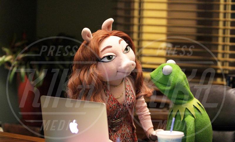 Denise, Kermit - 02-09-2015 - Sale l'attesa per il debutto in Italia di The Muppets - la serie