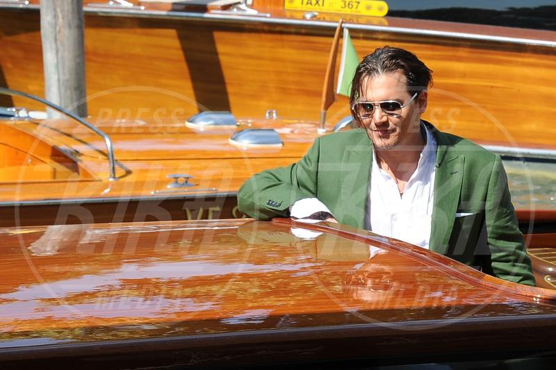 Johnny Depp - Venezia - 04-09-2015 - Johnny Depp sarà protagonista de L'Uomo Invisibile