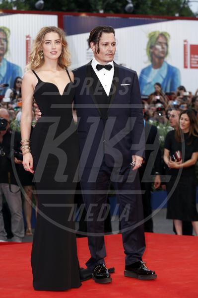 Amber Heard, Johnny Depp - Venezia - 04-09-2015 - Sean Penn e Amber Heard, il nuovo amore di Hollywood