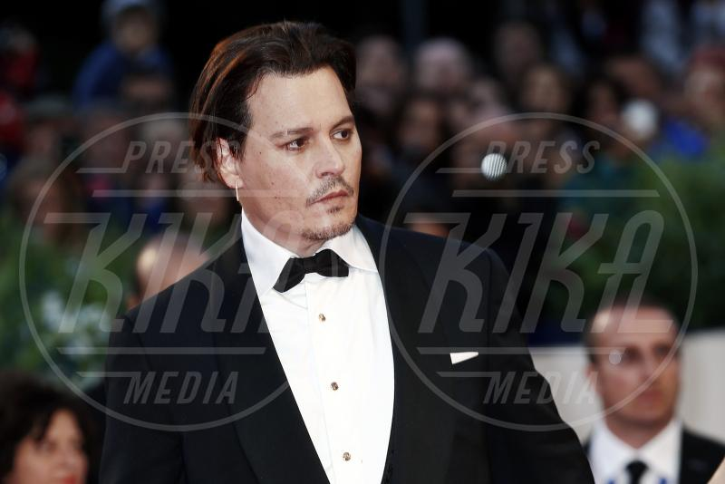 Johnny Depp - Venezia - 05-09-2015 - Johnny Depp sarà protagonista de L'Uomo Invisibile