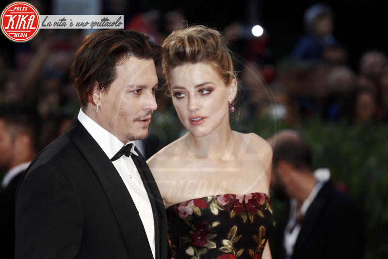Amber Heard, Johnny Depp - Venezia - 05-09-2015 - Sean Penn e Amber Heard, il nuovo amore di Hollywood