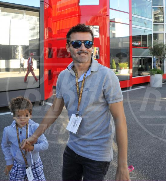 Max Biaggi - Monza - 06-09-2015 - GP di Monza, Matteo Renzi tra gli spettatori vip
