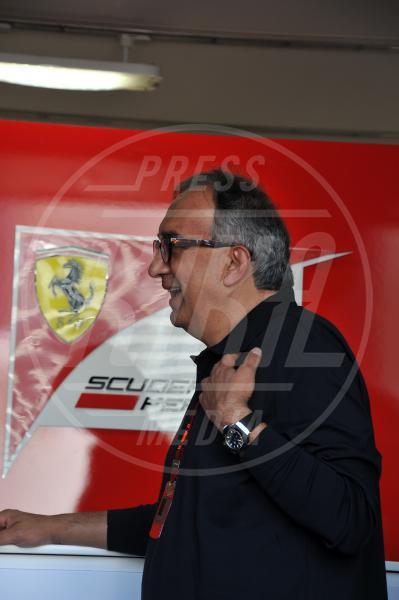 Sergio Marchionne - Monza - 06-09-2015 - GP di Monza, Matteo Renzi tra gli spettatori vip