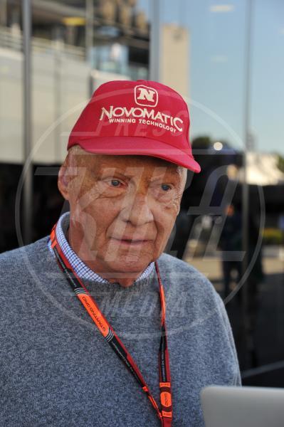 Niki Lauda - Monza - 06-09-2015 - GP di Monza, Matteo Renzi tra gli spettatori vip