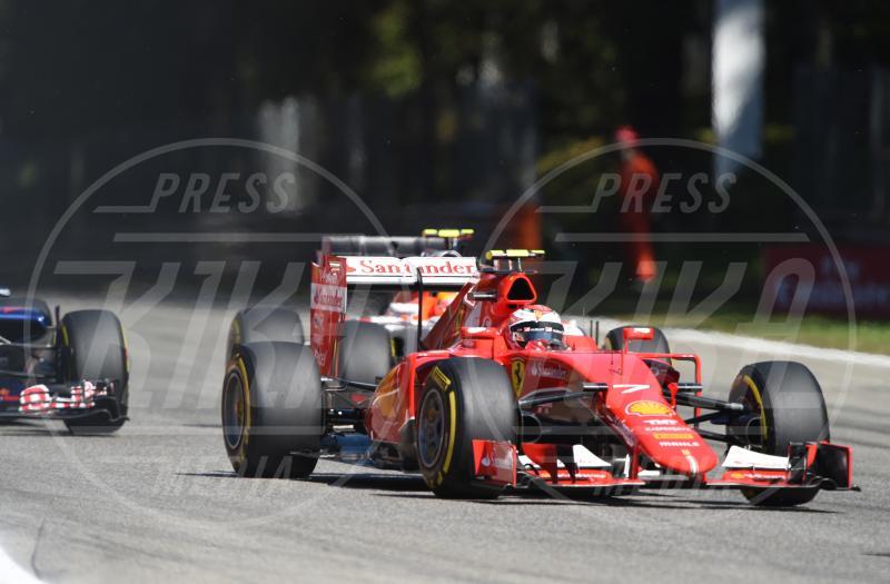 Kimi Raikkonen - Monza - 06-09-2015 - Gran Premio d'Italia: trionfa la Mercedes di Hamilton