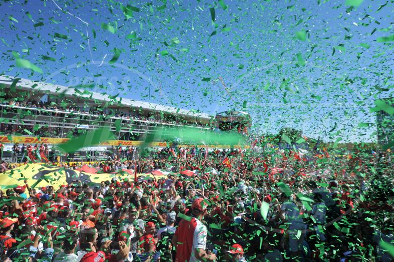 Tifosi Ferrari - Monza - 06-09-2015 - Gran Premio d'Italia: trionfa la Mercedes di Hamilton