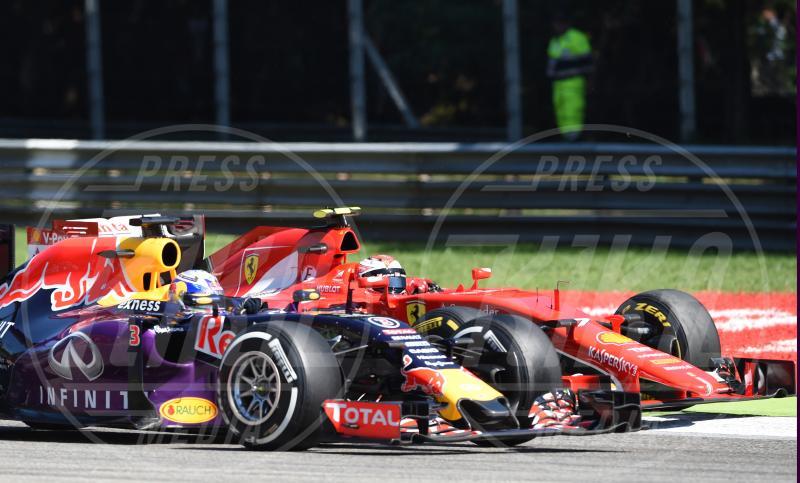 Daniel Ricciardo, Kimi Raikkonen - Monza - 06-09-2015 - Gran Premio d'Italia: trionfa la Mercedes di Hamilton