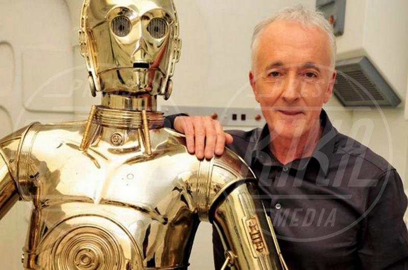 Anthony Daniels - Los Angeles - 08-09-2015 - Star Wars 8: nel cast anche Benicio Del Toro e Laura Dern