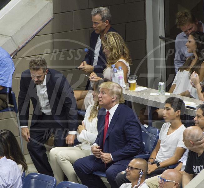 Melania Knauss, Donald Trump - Flushing Meadow - 08-09-2015 - Us Open: l'ennesima vetrina delle star