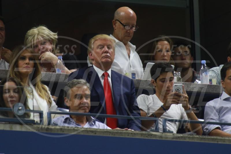 Melania Trump, Donald Trump - New York - 08-09-2015 - Melania Trump è rimasta di cera... e l'abito non è casuale!