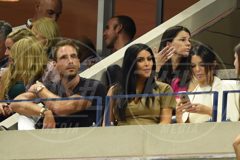 Simon Huck, Kim Kardashian - Flushing Meadows - 08-09-2015 - Us Open: l'ennesima vetrina delle star