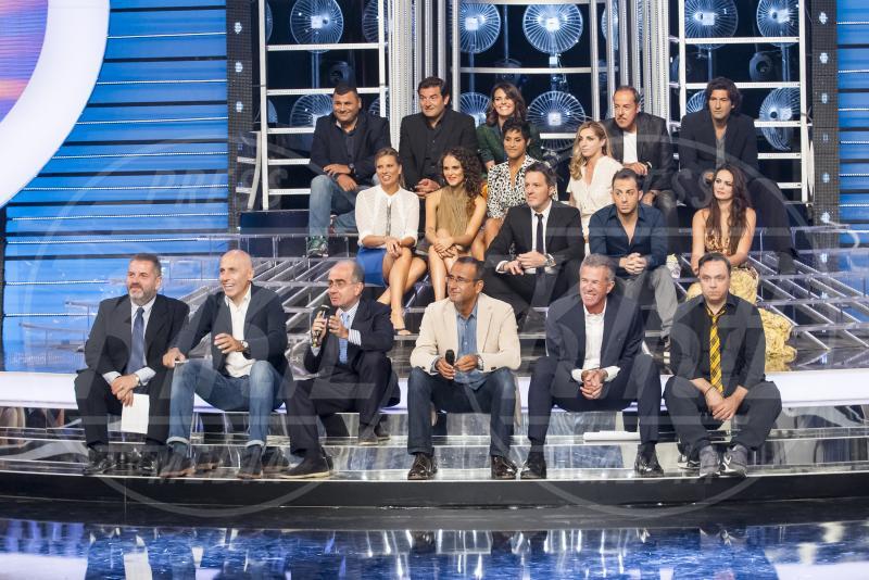 Cast Tale e Quale Show - Roma - 09-09-2015 - Carlo Conti presenta la quinta edizione di Tale e quale show