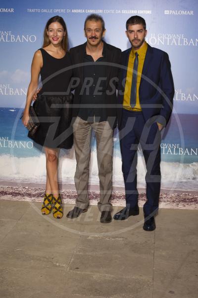 Michele Riondino, Sarah Felberbaum, Gianluca Maria Tavarelli - Roma - 10-09-2015 - Riondino: