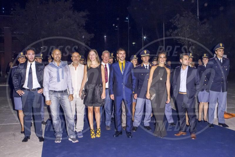 cast Il Giovane Montalbano - Roma - 10-09-2015 - Riondino:
