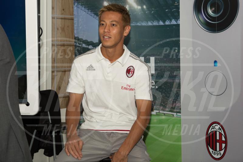 Keisuke Honda - Milano - 10-09-2015 - Barbara Berlusconi, raduno a Casa Milan con squadra e tifosi