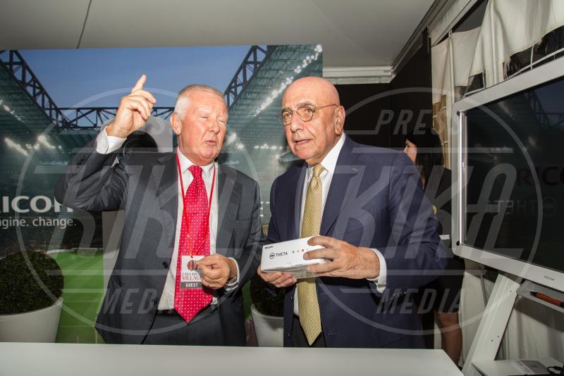 Adriano Galliani - Milano - 10-09-2015 - Barbara Berlusconi, raduno a Casa Milan con squadra e tifosi