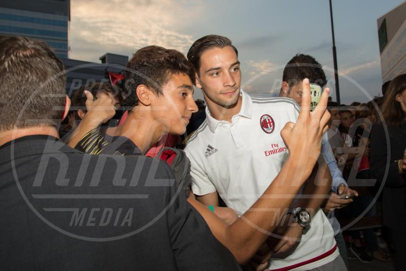 Milan - Milano - 10-09-2015 - Barbara Berlusconi, raduno a Casa Milan con squadra e tifosi