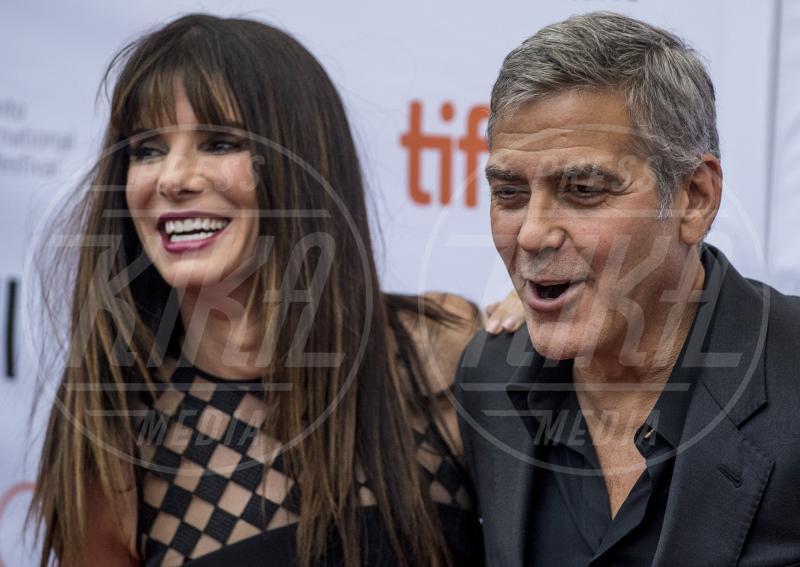 Sandra Bullock, George Clooney - Toronto - 11-09-2015 - Sandra Bullock nel reboot di Ocean's Eleven