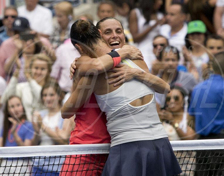 Roberta Vinci, Flavia Pennetta - New York - 12-09-2015 - Us Open 2015: l'America ai piedi delle tenniste italiane
