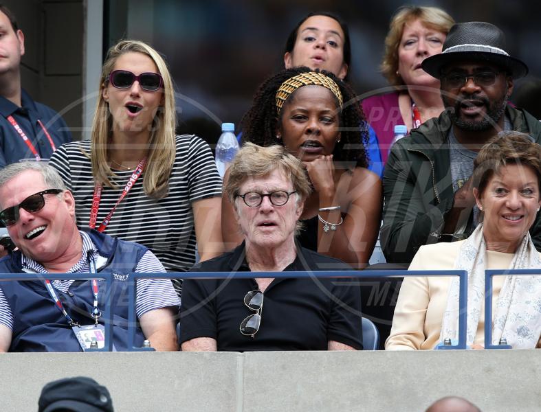 Robert Redford - New York - 12-09-2015 - Us Open 2015: l'America ai piedi delle tenniste italiane