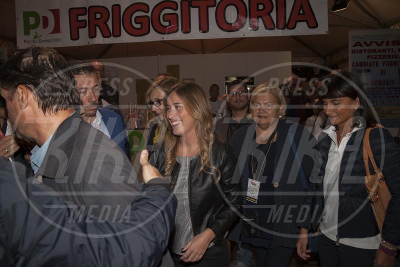 Maria Elena Boschi - Firenze - 13-09-2015 - Maria Elena Boschi, la forma fisica è un optional