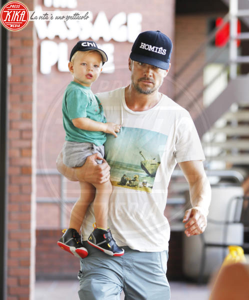 Axl Duhamel, Josh Duhamel - Los Angeles - 15-09-2015 - David Gandy è diventato papà: ora anche lui è un DILF...