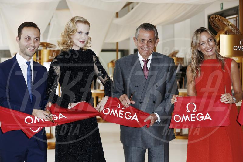 Stephen Urquhart, Nicole Kidman - Milano - 16-09-2015 - Nicole Kidman a Milano per la mostra Omega