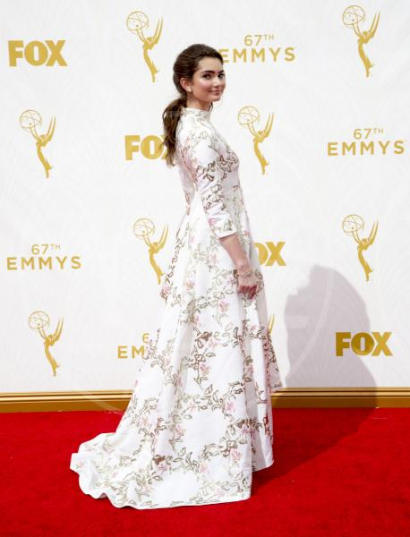 Emily Robinson - Los Angeles - 20-09-2015 - Emmy Awards 2015: le dive viste fronte e retro