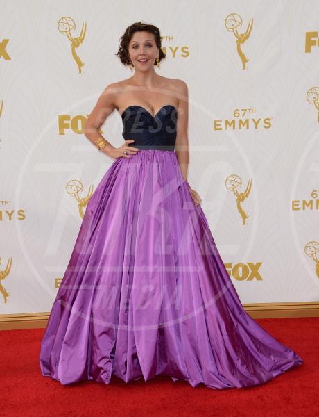 Maggie Gyllenhaal - Downtown Los Angeles - 20-09-2015 - Emmy Awards 2015: le dive viste fronte e retro