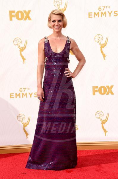 Claire Danes - Los Angeles - 20-09-2015 - Emmy Awards 2015: le dive viste fronte e retro