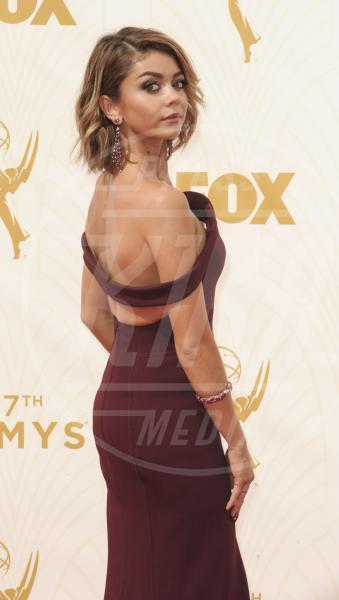 Sarah Hyland - Los Angeles - 21-09-2015 - Emmy Awards 2015: le dive viste fronte e retro