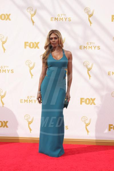Laverne Cox - Los Angeles - 21-09-2015 - Emmy Awards 2015: le dive viste fronte e retro