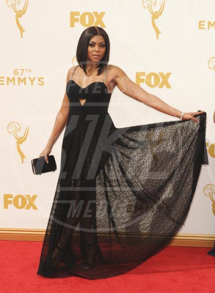 Taraji P. Henson - Los Angeles - 21-09-2015 - Emmy Awards 2015: le dive viste fronte e retro