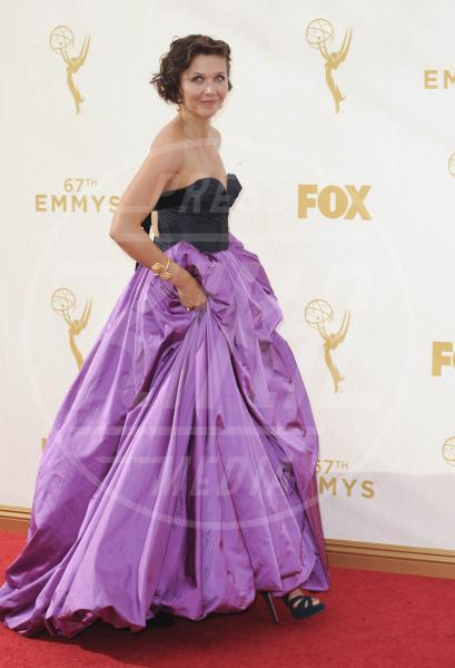 Maggie Gyllenhaal - Los Angeles - 21-09-2015 - Emmy Awards 2015: le dive viste fronte e retro