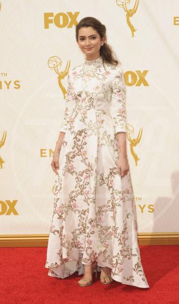 Emily Robinson - Los Angeles - 21-09-2015 - Emmy Awards 2015: le dive viste fronte e retro