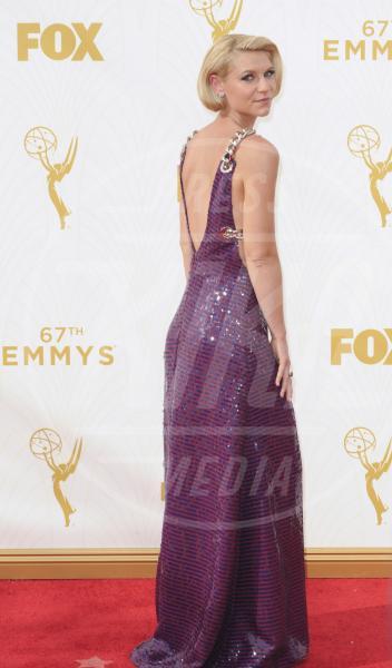 Claire Danes - Los Angeles - 21-09-2015 - Emmy Awards 2015: le dive viste fronte e retro
