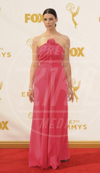 Jessica Parè - Los Angeles - 21-09-2015 - Emmy Awards 2015: le dive viste fronte e retro