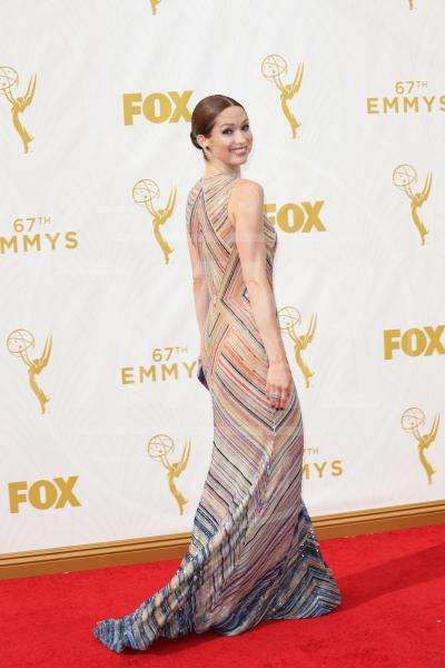 Ellie Kemper - Los Angeles - 20-09-2015 - Emmy Awards 2015: le dive viste fronte e retro