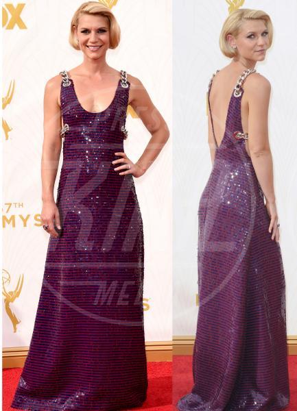 Claire Danes - 21-09-2015 - Emmy Awards 2015: le dive viste fronte e retro